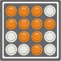 Logo naranja imaginario