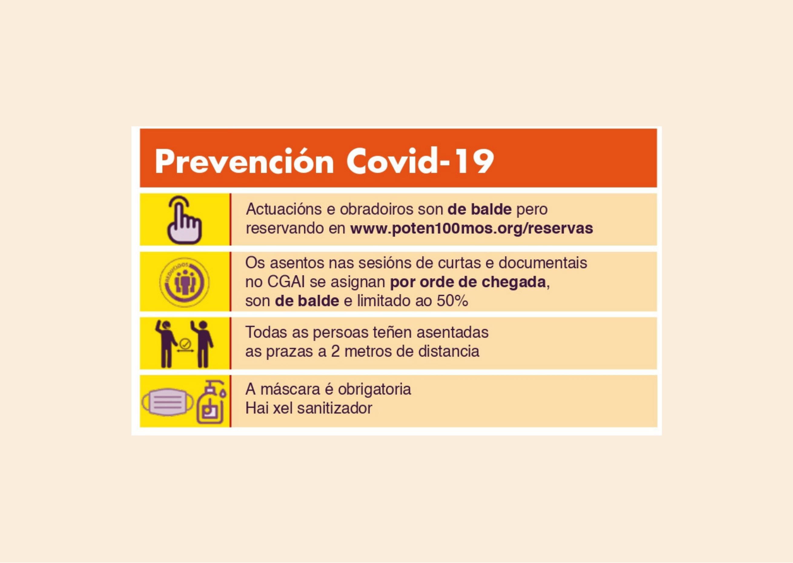 Prevención COVID Diversidarte